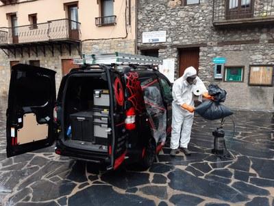 Avís important sobre la desinfecció a la Vall de Boí