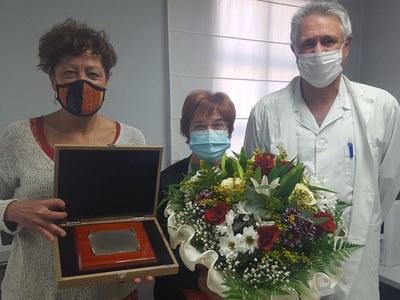 Homenatge a la nostra infermera Montse Piedra Bonet en motiu de la seva jubilació