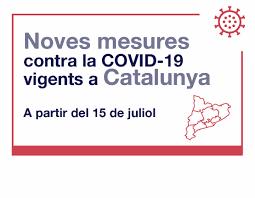 Noves mesures per la Covid-19
