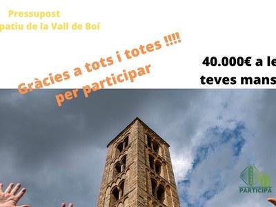 Pressupost participatiu de la Vall de Boí