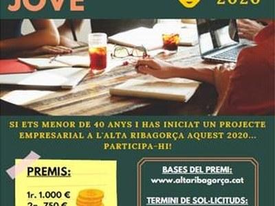 XVI edició del Premi EMPRENEDORIA JOVE de l'Alta Ribagorça
